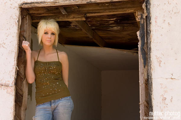 hot emo girl with blonde hair
