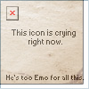 It is a emo icon
