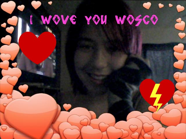 i wove you wosco