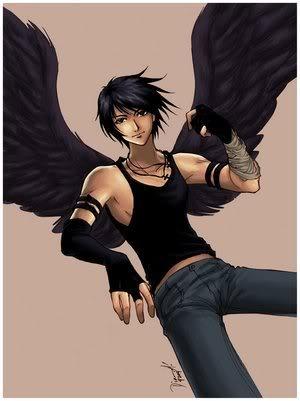 Emo+anime+boy+angel