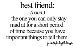 Best friend..