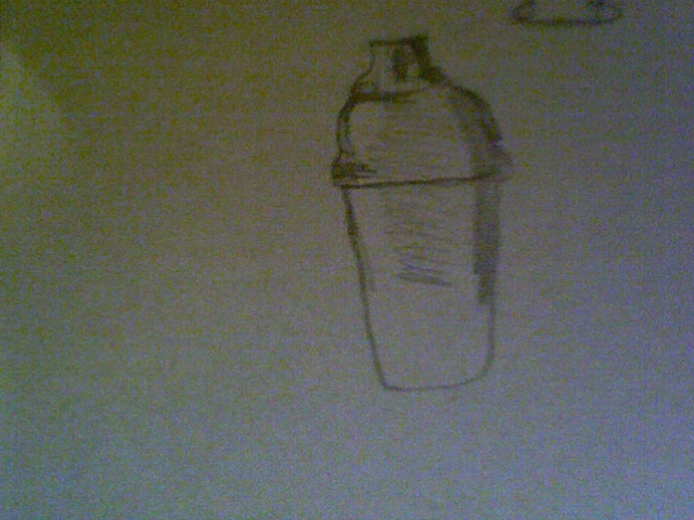 Metal Thermos Drawing