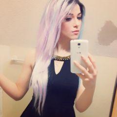 Becca_Bewitched, emo girl, emo model, emo girl selfie